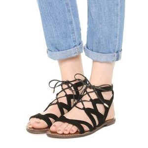 Sam Edelman Lace Up Gladiator Sandals